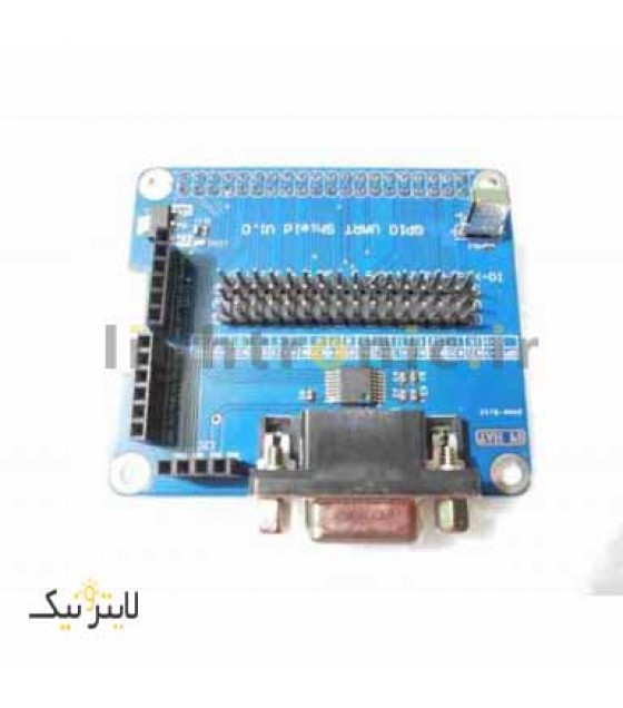 شیلد UART GPIO رزبری پای_ rasberry pie UART GPIO shield